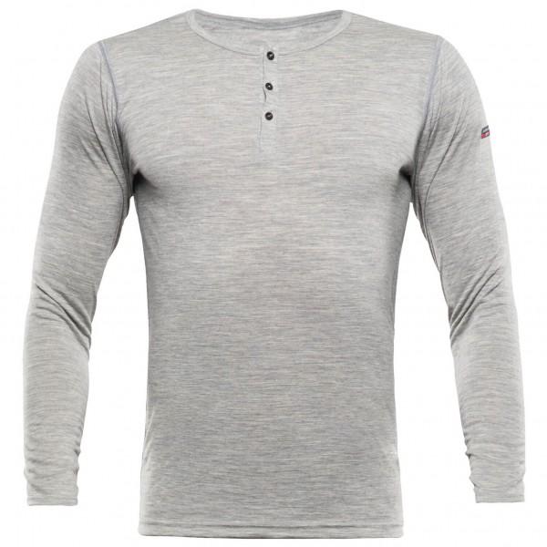 Devold - Breeze Button Shirt - Merinounterwäsche