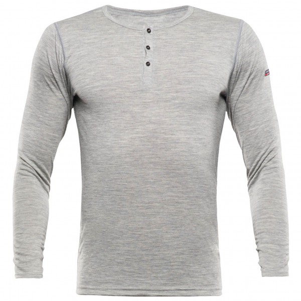 Devold - Breeze Button Shirt - Merino ondergoed