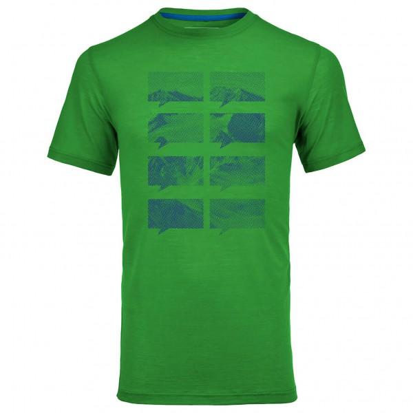 Ortovox - Merino 150 Mountain Print S/S - Sous-vêtements en
