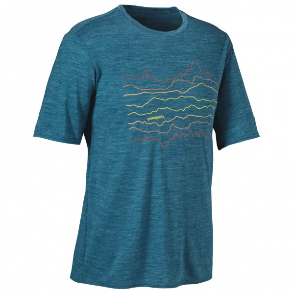 Patagonia - Merino Daily Graphic T-Shirt - Sous-vêtements en