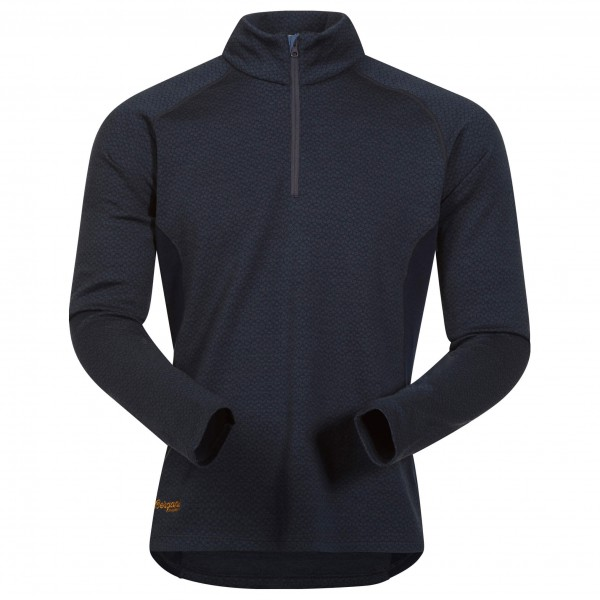 Bergans - Snøull Half Zip - Sous-vêtements en laine mérinos