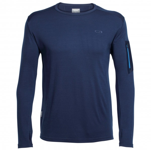 Icebreaker - Apex L/S Crewe - Sous-vêtements en laine mérino