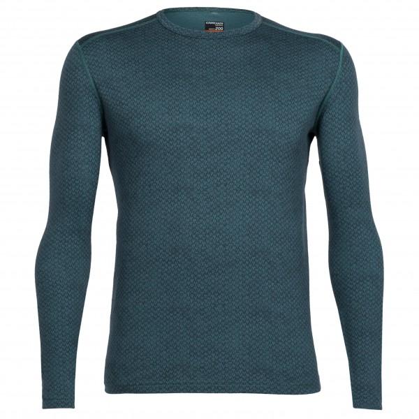 Icebreaker - Oasis L/S Crewe Rakiura - Sous-vêtements en lai