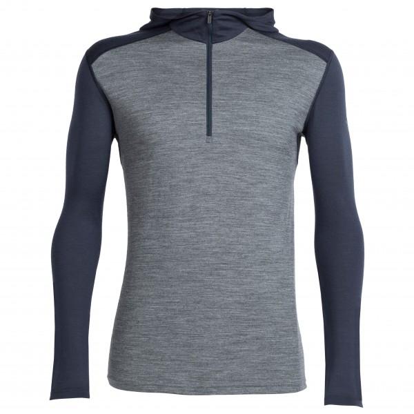 Icebreaker - Oasis L/S Half Zip Hood - Merino underwear