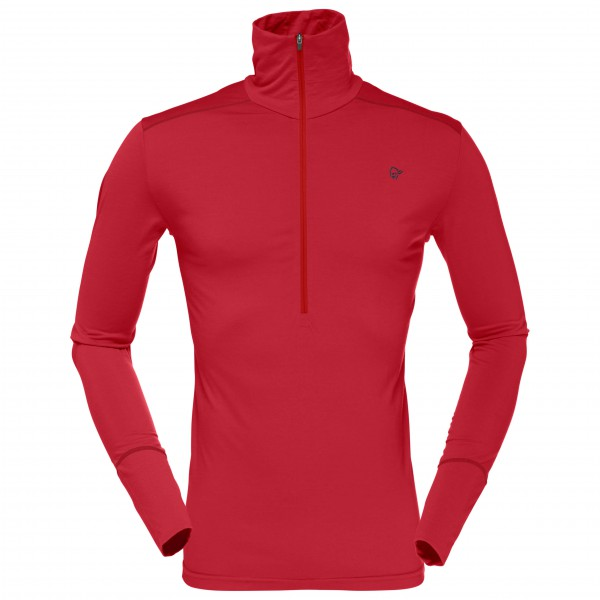 Norrøna - Wool Zip Neck - Merino underwear