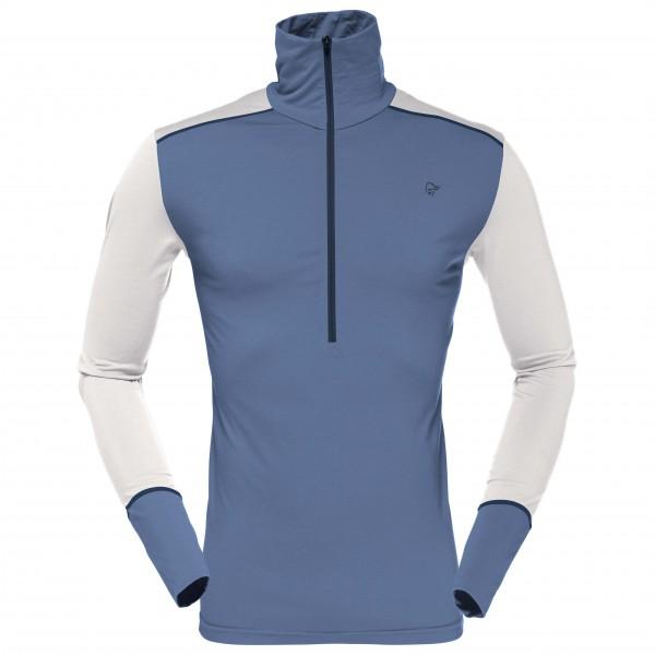 Norrøna - Wool Zip Neck - Merino undertøj