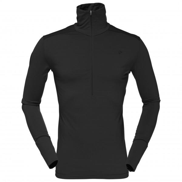 Norrøna - Wool Zip Neck - Camiseta de manga larga de merino