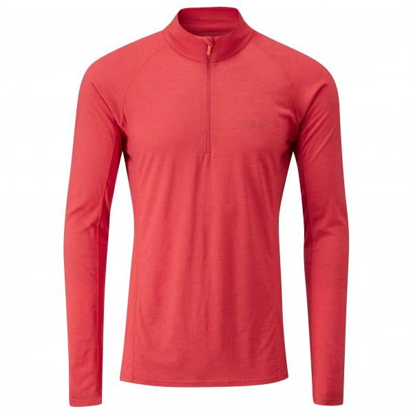 Rab - Merino+ 120 L/S Zip - Sous-vêtements en laine mérinos