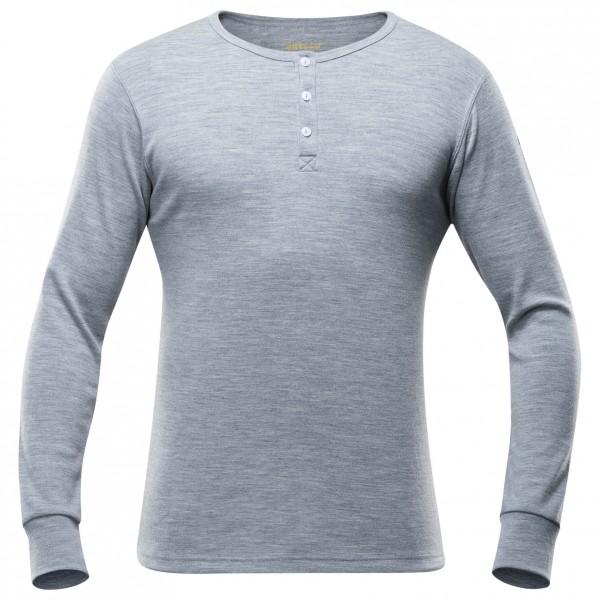 Devold - Nature Button Shirt - Merinovilla-alusvaatteet