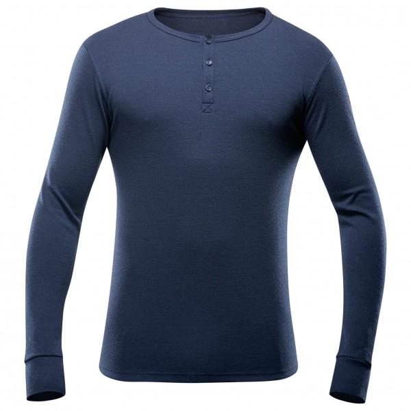Devold - Nature Button Shirt - Sous-vêtements en laine mérin