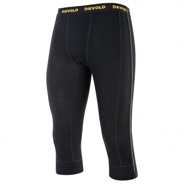 Devold - Wool Mesh Zip-Off Capri - Underkläder merinoull