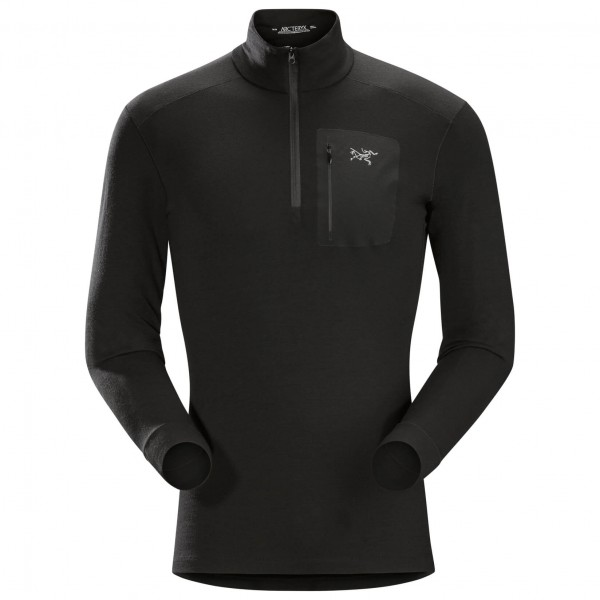 Arc'teryx - Satoro AR Zip Neck L/S - Merino base layers