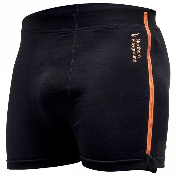 Northern Playground - Zipboxer Wool - Merino underwear
