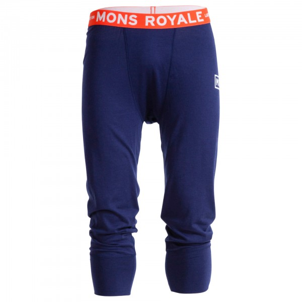 Mons Royale - Shaun-Off 3/4 Long John - Merino undertøj