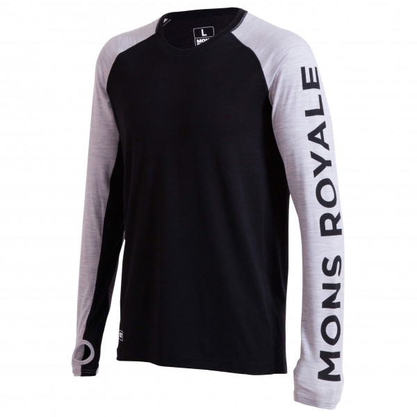 Mons Royale - Temple Tech L/S - Merino ondergoed