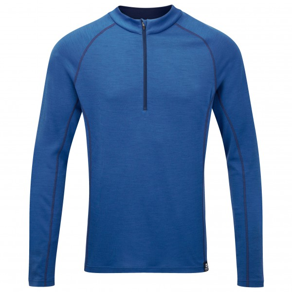 Mountain Equipment - Matrix 190 Zip Tee - Merino ondergoed
