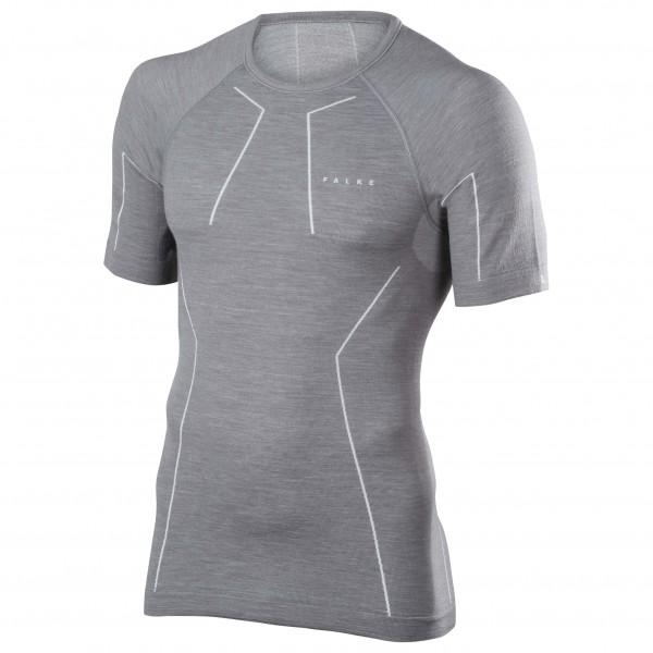 Falke - Wool-Tech Shortsleeved Shirt Comfort - Merinovilla-alusvaatteet