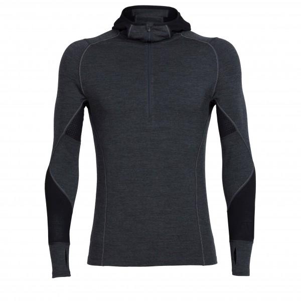 Icebreaker - Winter Zone L/S Half Zip Hood - Merino undertøj