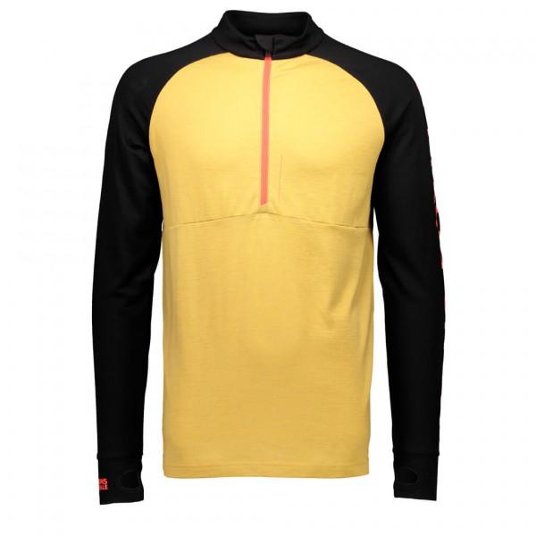 Mons Royale - Checklist 1/2 Zip Geo - Merino undertøj