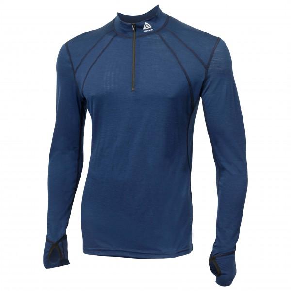 Aclima - Lightwool Zip Shirt - Merinoundertøy