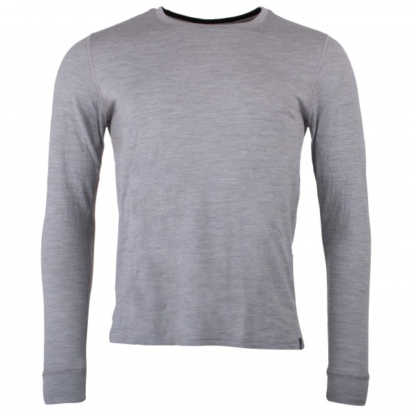 Odlo - Shirt L/S Crew Neck Natural 100% Merino - Merinovilla-alusvaatteet