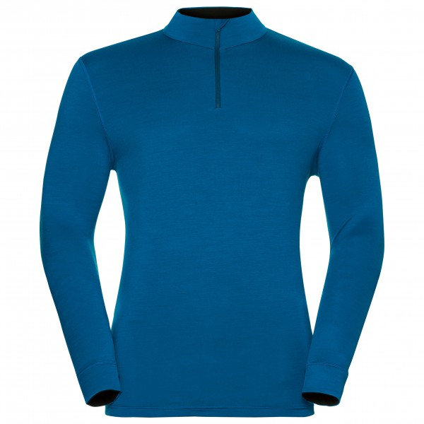 Odlo - Shirt L/S Turtle Neck 1/2 Zip Natural 10 - Merino-ondergoed