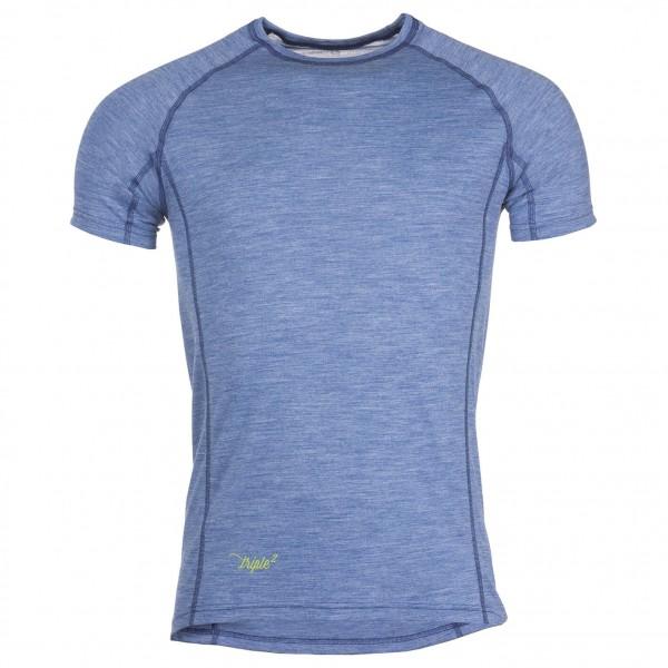 Triple2 - Unner Shirt - Merinounterwäsche