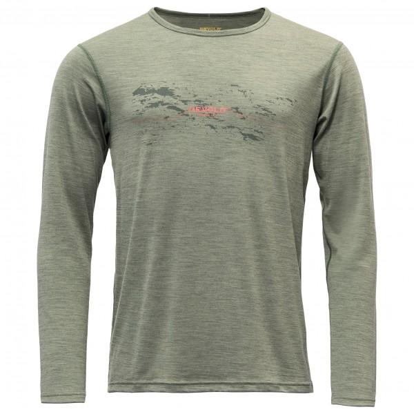Devold - Furnes Shirt with Print - Merinounterwäsche