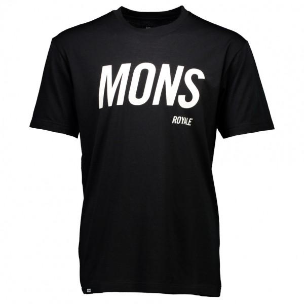 Mons Royale - Icon T-Shirt Slant - Underkläder merinoull