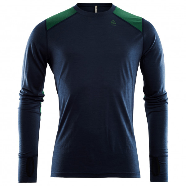 Aclima - LightWool Reinforced Crewneck - Merino base layer