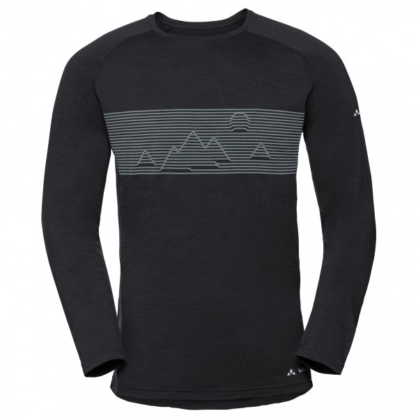 Vaude - Base L/S Shirt - Merinovilla-alusvaatteet