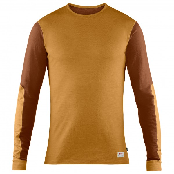 Fjällräven - Keb Wool T-Shirt L/S - Merinounterwäsche