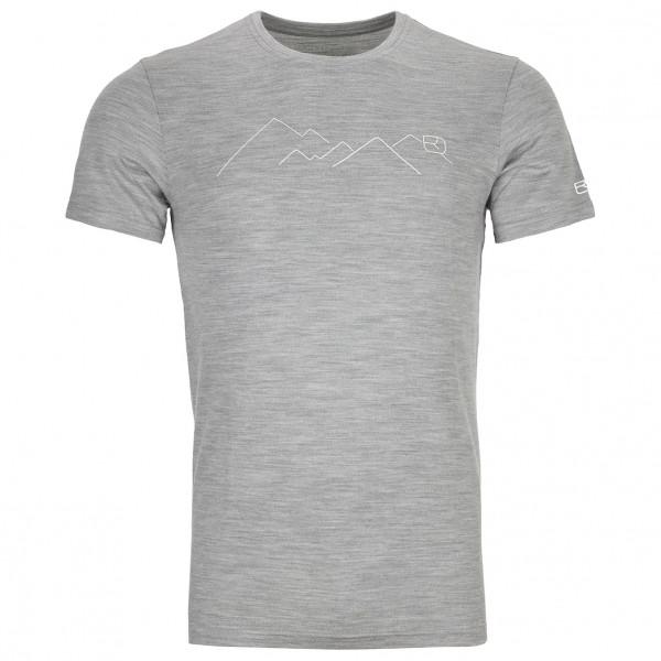 Ortovox - 185 Merino Mountain T-Shirt - Merinovilla-alusvaatteet