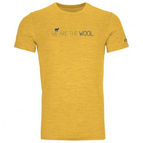 Ortovox - 185 Merino Wool T-Shirt - Underkläder merinoull