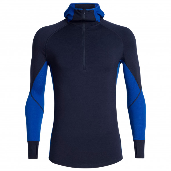 Icebreaker - 260 Zone L/S Half Zip Hood - Merino base layer
