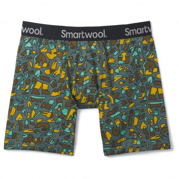 Smartwool - Merino 150 Print Boxer Brief Boxed - Merino ondergoed