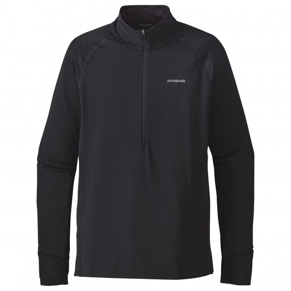 Patagonia - All Weather Zip Neck - Løbeshirt