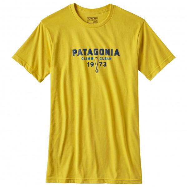Patagonia - Climb Clean Nuts Cotton/Poly T-Shirt - T-skjorte