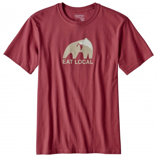 Patagonia - Eat Local Upstream Cotton T-Shirt - T-paidat