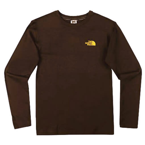 The North Face - Men's L/S Stamped Tee