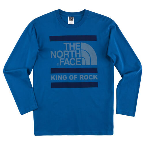 The North Face - L/S King Of Rock Tee - Longsleeve