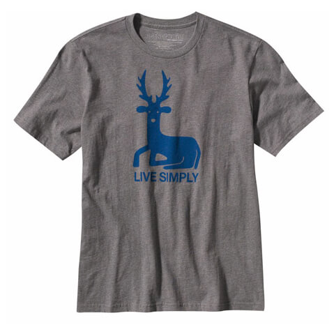 Patagonia - Men's Live Simply Deer T-Shirt