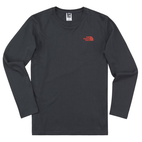 The North Face - L/S Ear Tee - Longsleeve