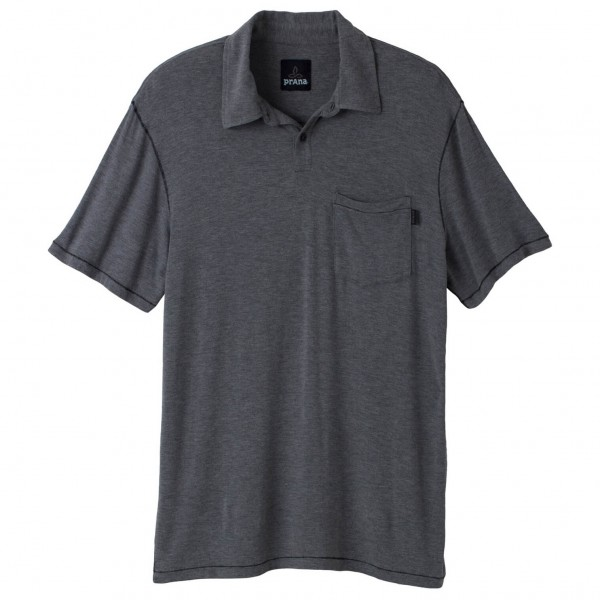 Prana - Crosshatch Polo - T-Shirt