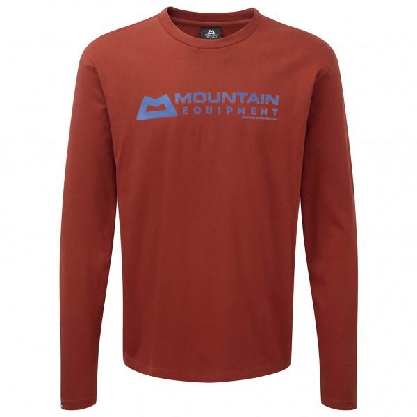 Mountain Equipment - LS Branded Tee - Longsleeve