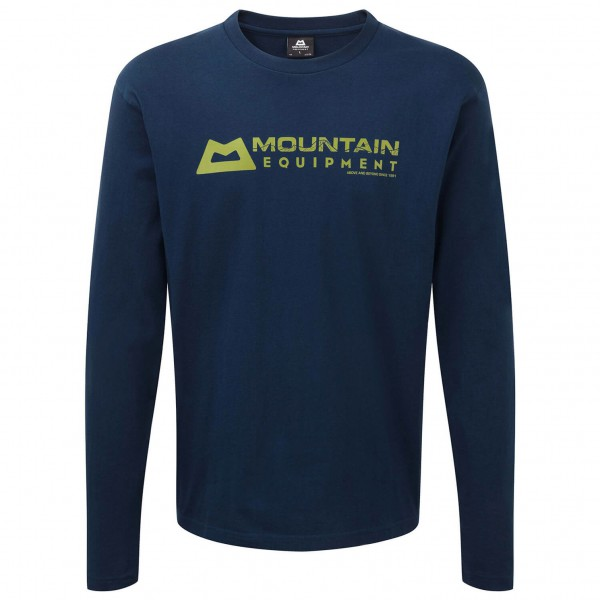 Mountain Equipment - LS Branded Tee - Long-sleeve