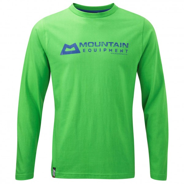 Mountain Equipment - LS Branded Tee - Longsleeve
