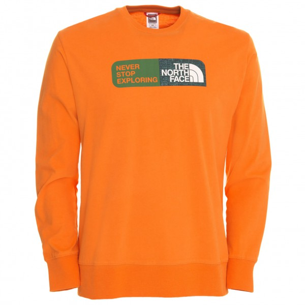 The North Face - LS Slogan Tee - Longsleeve