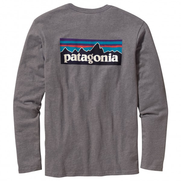 Patagonia - L/S P-6 Logo T-Shirt - Longsleeve
