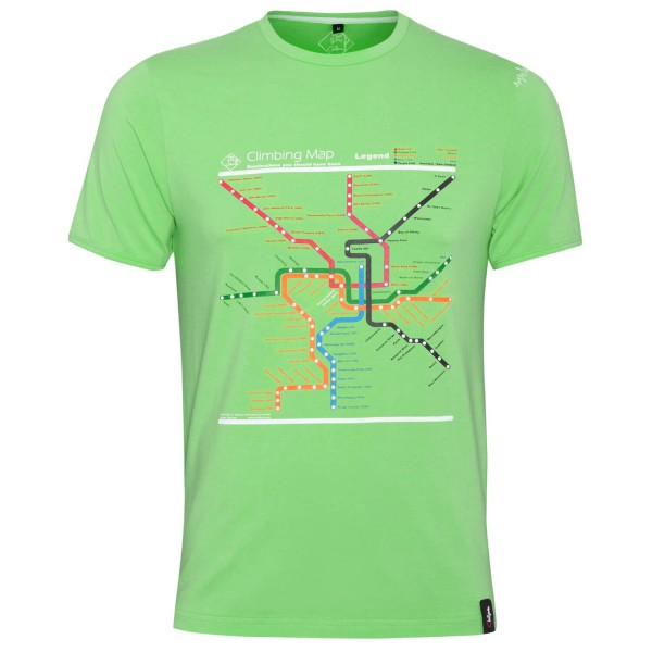 Chillaz - T-Shirt Map